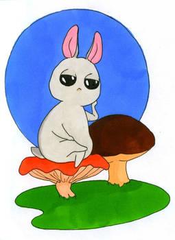 sullen bunny