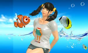 Xiaoyu with Nemo
