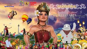 Dyah Gitarja (Civ 6) and Indonesia