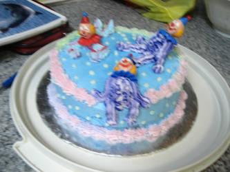 Clown Cake by eriin