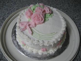 Rose Cake by eriin