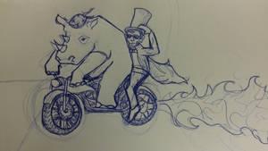 Lincoln Rhino Motorcycle Gang
