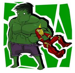 Hulk Has a Tin Man by Empty-Brooke