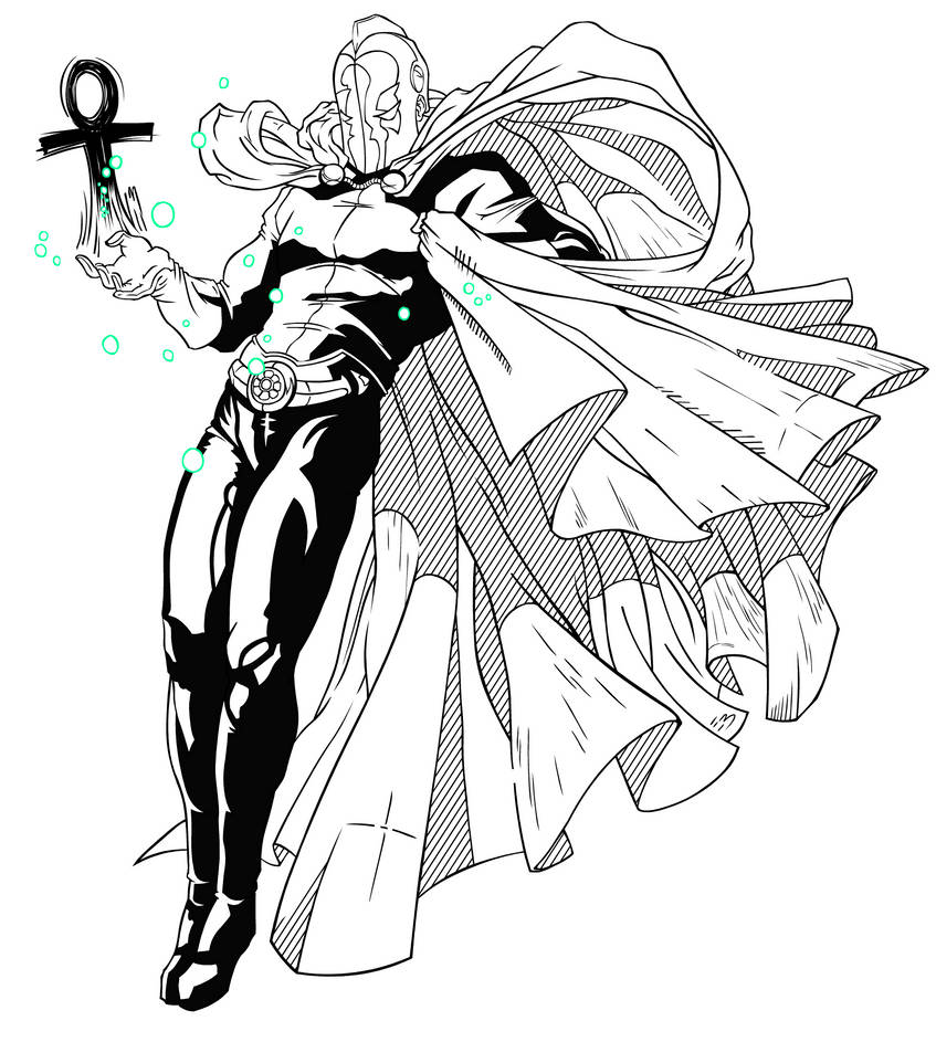 Doctor Fate [Solid Inks] by Empty-Brooke