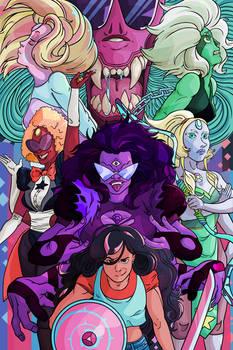 Steven Universe Gem Fusion Poster