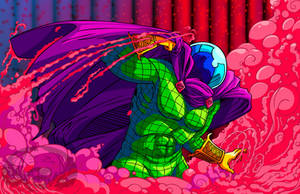 Mysterio in the Mist Print