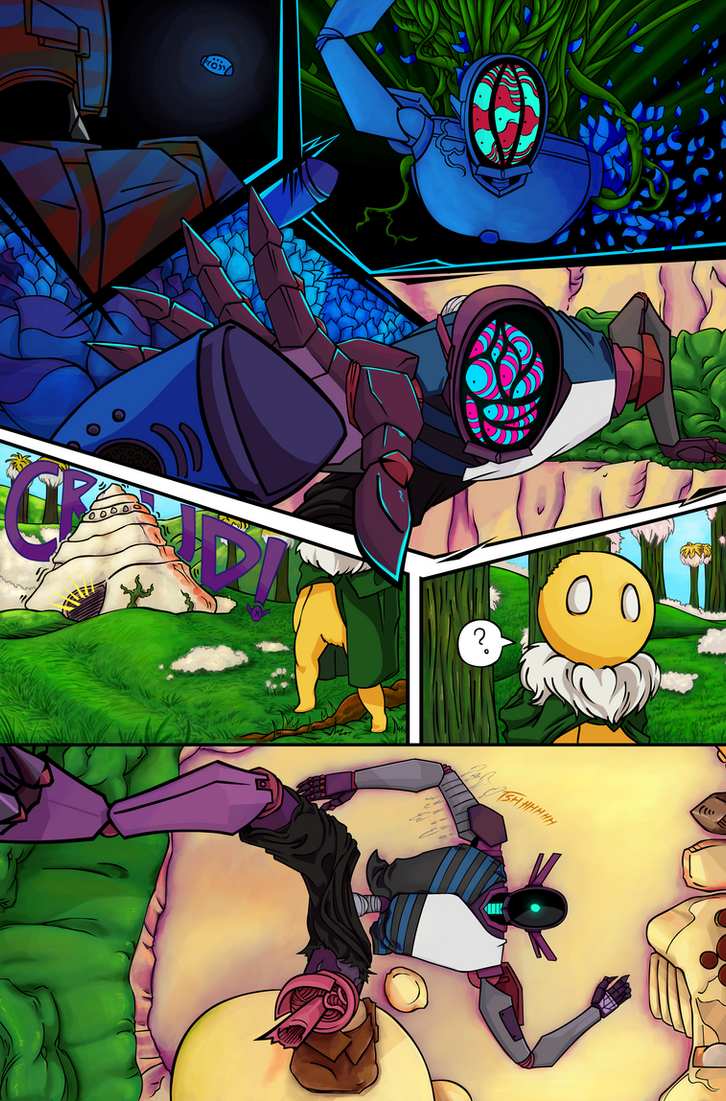 Mecha and Stem Issue 1 pg.12 by Empty-Brooke