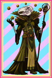 Easter Adoptable: Rotten Egg Mage [CLOSED] by Empty-Brooke