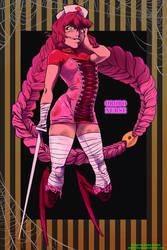 Spooky Adoptable: Orobo Nurse [CLOSED]