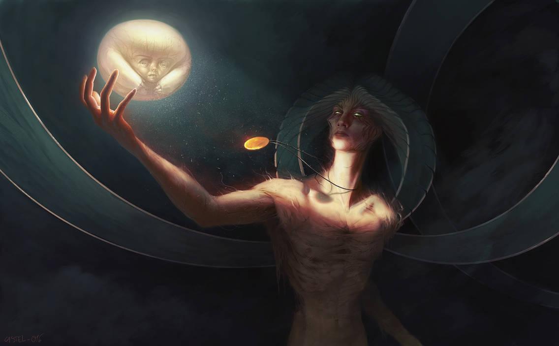 Философия в картинках - Страница 31 Lord_of_light_by_quentinvcastel_da0b9q8-pre.jpg?token=eyJ0eXAiOiJKV1QiLCJhbGciOiJIUzI1NiJ9.eyJzdWIiOiJ1cm46YXBwOjdlMGQxODg5ODIyNjQzNzNhNWYwZDQxNWVhMGQyNmUwIiwiaXNzIjoidXJuOmFwcDo3ZTBkMTg4OTgyMjY0MzczYTVmMGQ0MTVlYTBkMjZlMCIsIm9iaiI6W1t7ImhlaWdodCI6Ijw9MjE2NiIsInBhdGgiOiJcL2ZcLzAwMDFjNGQ0LTEzYWYtNDRjNi1iNjUzLWEyNDljZTJiMmM3ZVwvZGEwYjlxOC1lMzU2ZjdhMy0yNjI0LTRhODMtYjFlNC0xNWYwOGQzM2U5MDUuanBnIiwid2lkdGgiOiI8PTM1MDAifV1dLCJhdWQiOlsidXJuOnNlcnZpY2U6aW1hZ2Uub3BlcmF0aW9ucyJdfQ