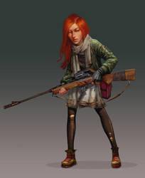 Hunter by Quentinvcastel