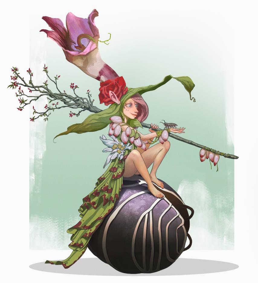 Woodlouses fairy by Quentinvcastel