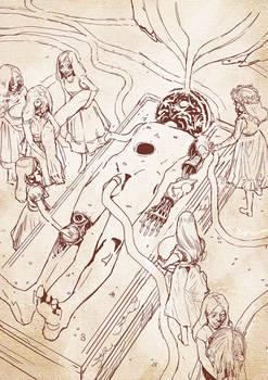 God makers - Unused sketch
