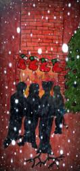 Christmas marauders by BlackLupus7