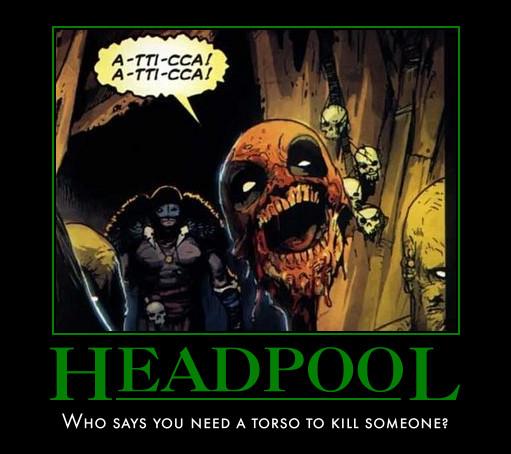 Headpool motivator by mangazach13 on deviantart for Headpool