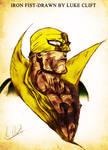 Iron Fist Illustration