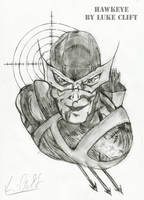 Hawkeye Drawing