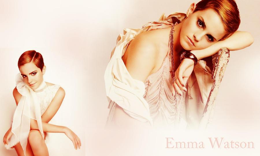 Emma Watson Wallpaper by Neutron-Flow
