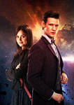 The Doctor and Clara Series 7B by Neutron-Flow
