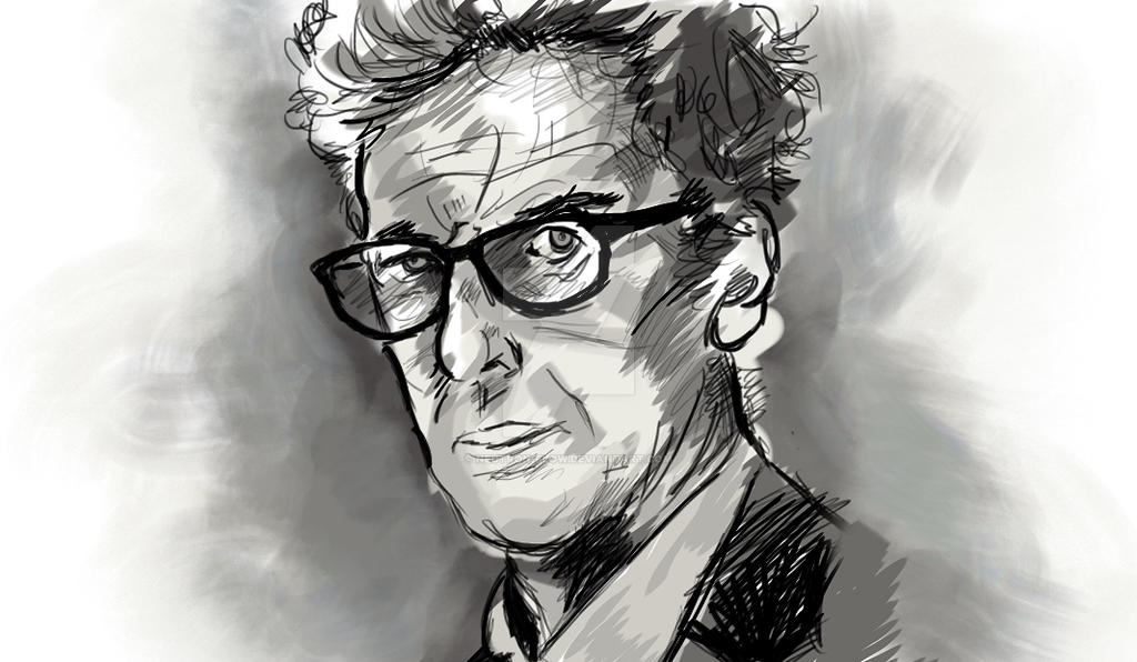 Peter Capaldi - Sketchbook Pro Experiment by Neutron-Flow