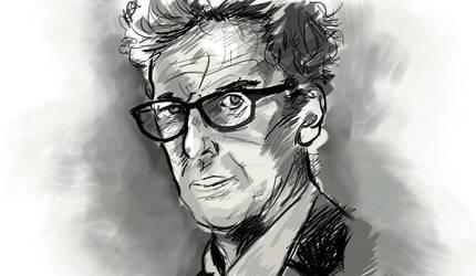 Peter Capaldi - Sketchbook Pro Experiment