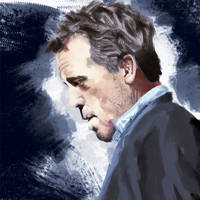 Dr House - Hugh Laurie by Neutron-Flow