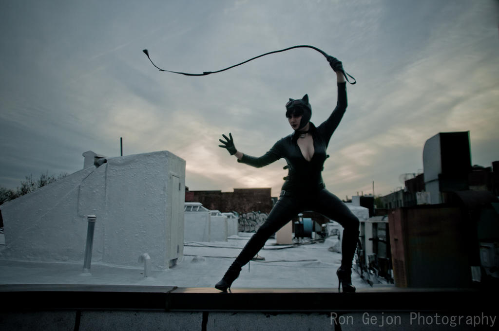 Catwoman Cosplay by Brea Biaa by RonGejon