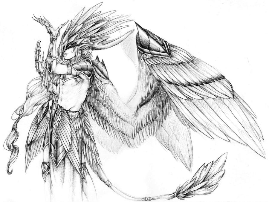 Avian Human by KirraDes