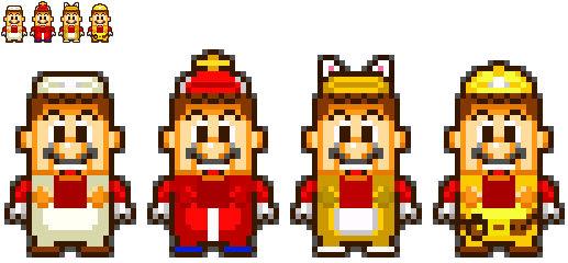 MLSS Styled LEGO Mario Power-Up Packs