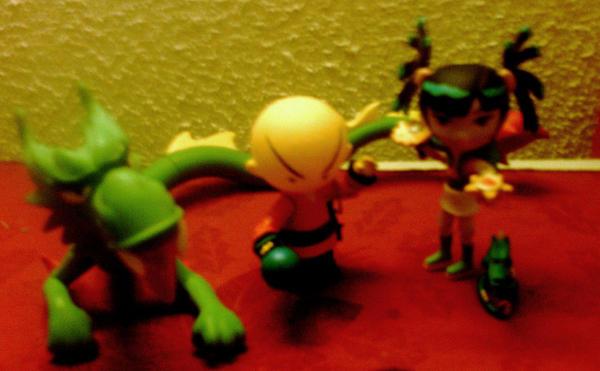 Xiaolin showdown toys