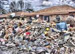 HDR Hurricane Katrina Debris by MonkeyMan504