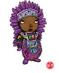 Fat Kid - Big Chief Purple