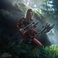 Elder Scrolls Legends : Morag Tong Aspirant by oyasumi75