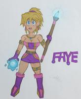 Faye OC by SnidelyOne