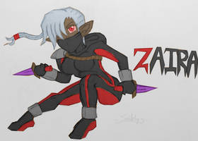 Zaira OC by SnidelyOne
