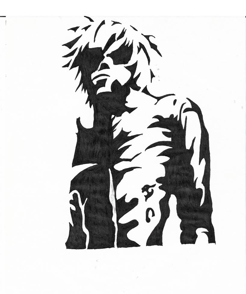 Un personnage manga / A manga character by lebookdecezary