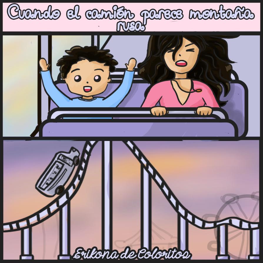 Anecdotas del tranposrte publico en Mexico by eriakire
