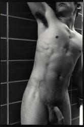 nude male triptych 3 by zeldamaniac84