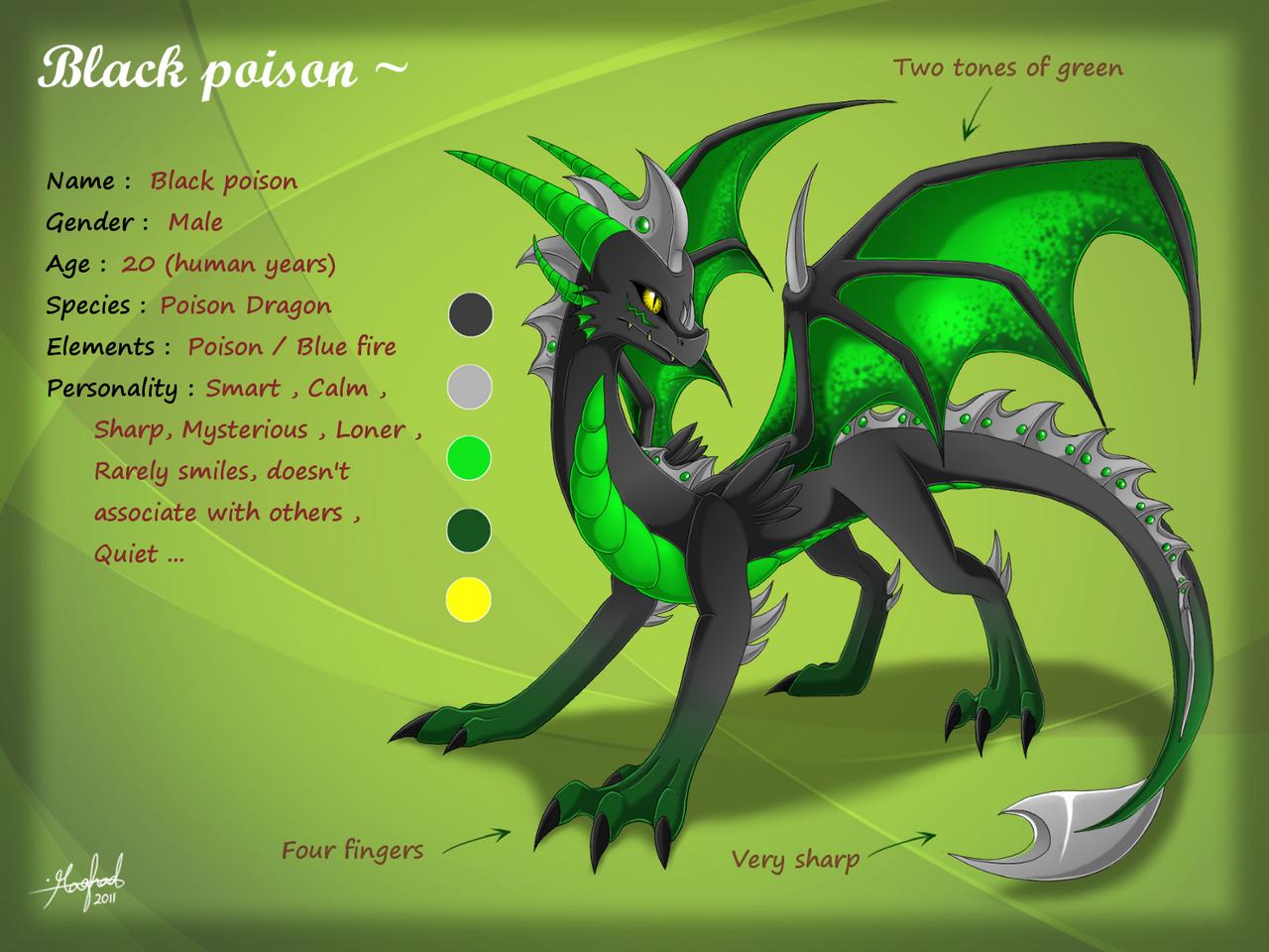 Black poison ref sheet by Rorita-Sakura on DeviantArt