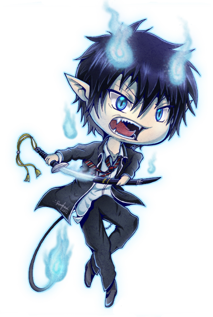 Off to School Pt 1 | The Real Blue Exorcist