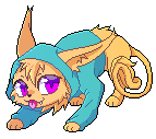 Kitty mini pixel by Rorita-Sakura