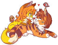 Oha mini pixel by Rorita-Sakura