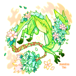 Jasmine Tea Dragon ADOPT - [CLOSED]
