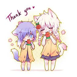 Thank you! by Rorita-Sakura