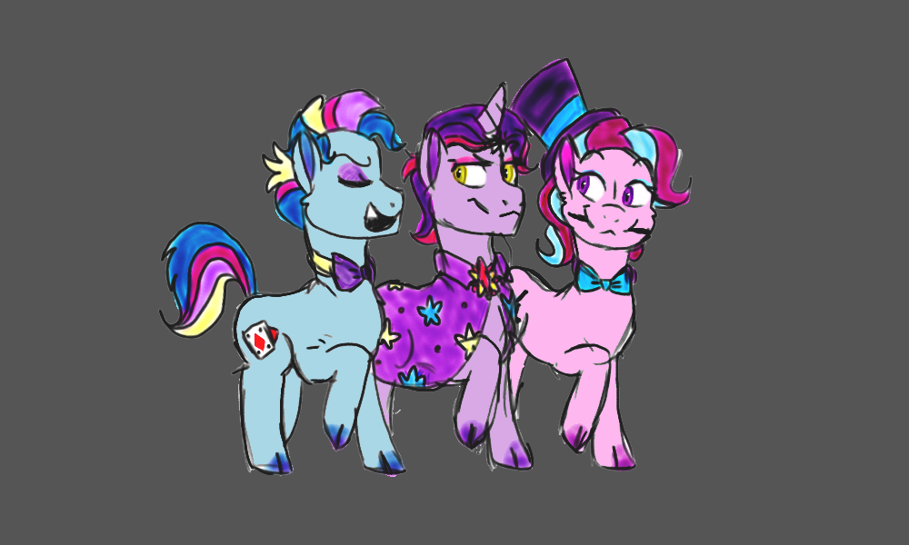Magical Mares of Ponyville by Caroline263
