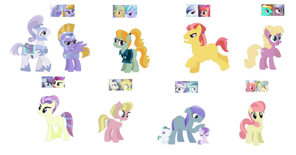 Crystal Pony Adopts 1 by Caroline263