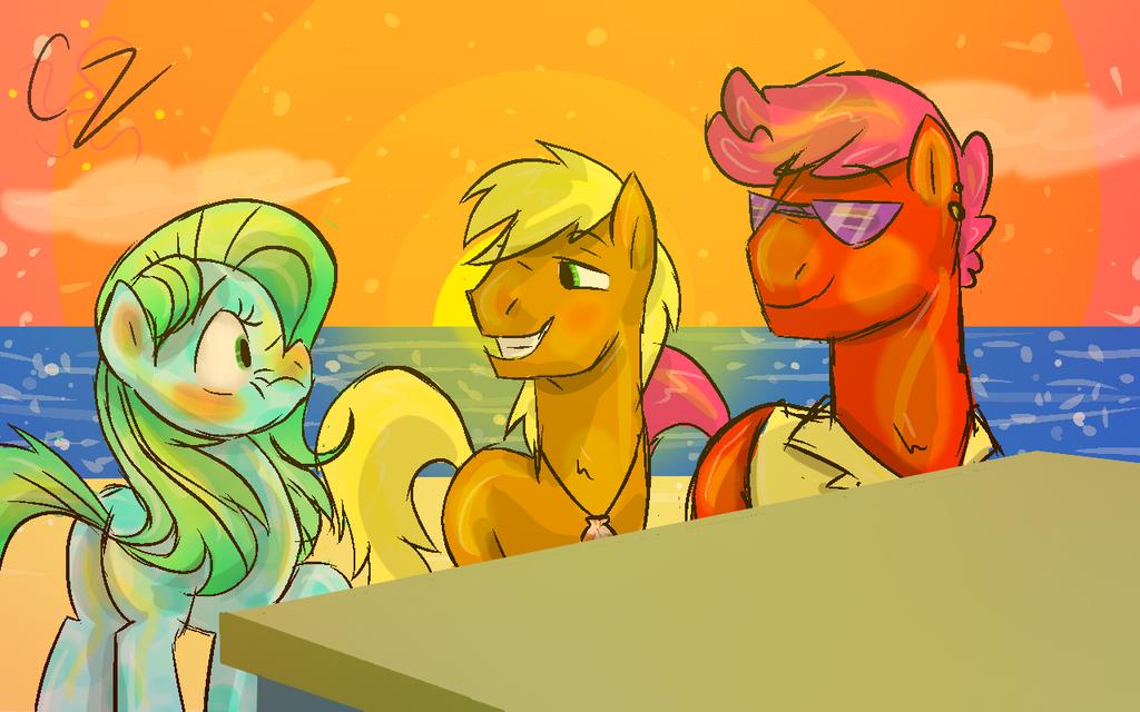 Beach Dudes by Caroline263