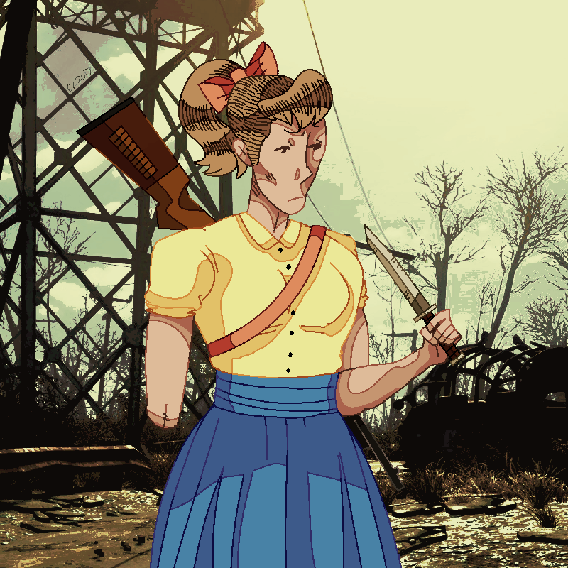 fallout - sally louanne by hateful-minds