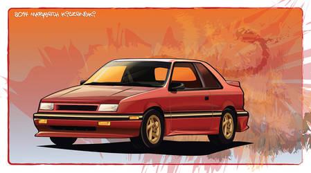 1989 Shelby CSX - Vecor by supercrazzy