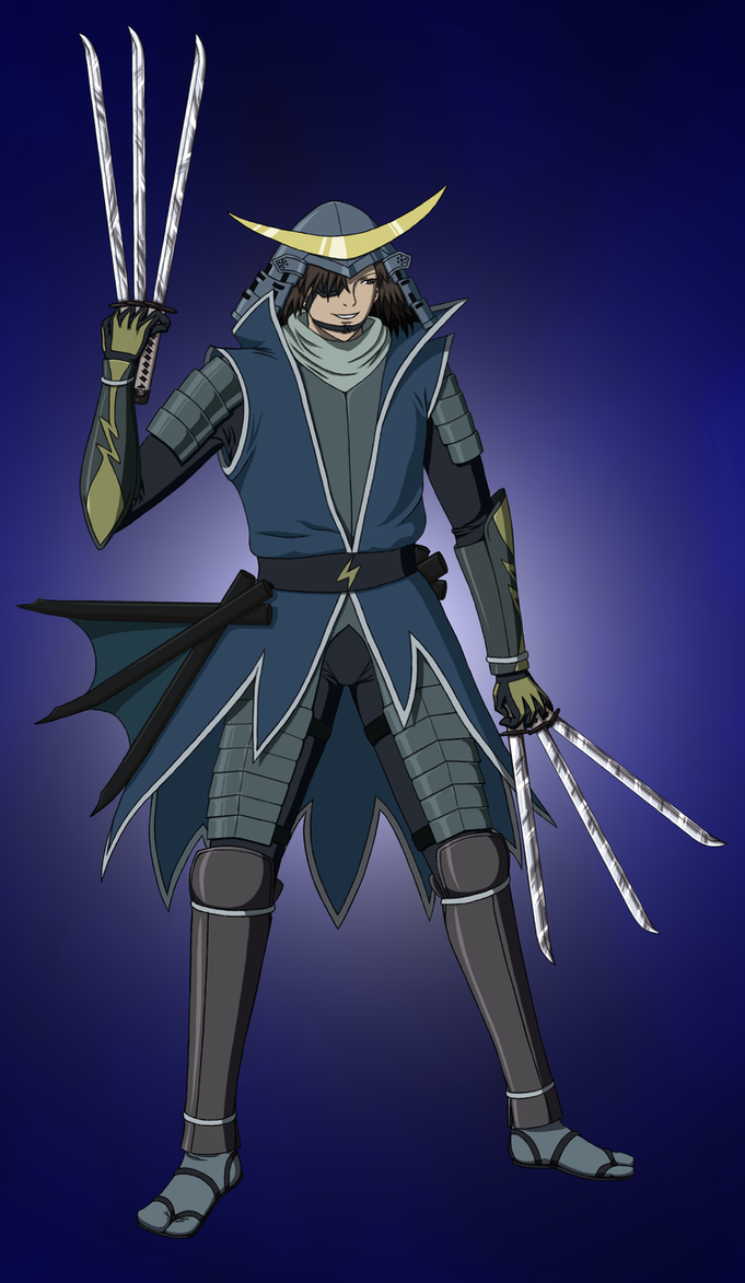 Date Masamune - Sengoku Basara by ReaperFFseven